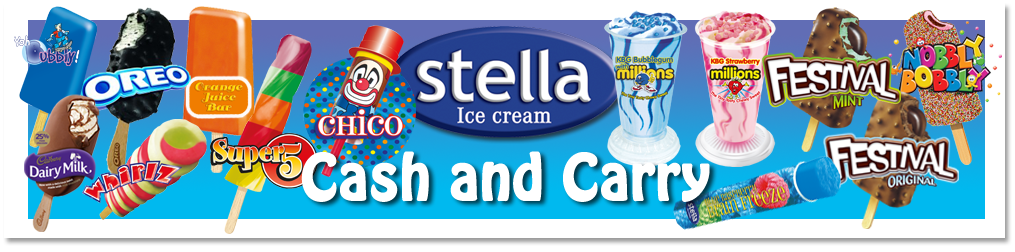 As well as the full range of Stella products you will find lots of popular impulse ranges at the Cash and Carry > > >