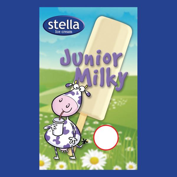 Dairy Vanilla flavour. 56ml / 56 per carton