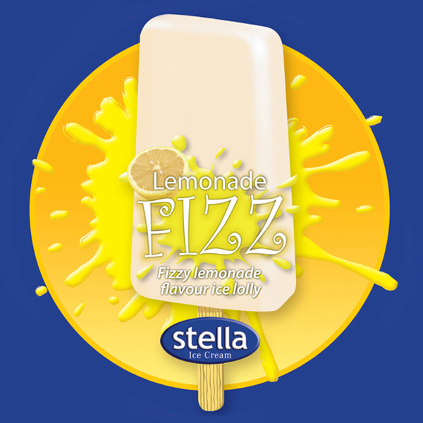 Fizzy Lemonade flavour. 80ml / 24 per carton