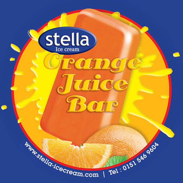 Real Orange Juice. 80ml / 24 per carton