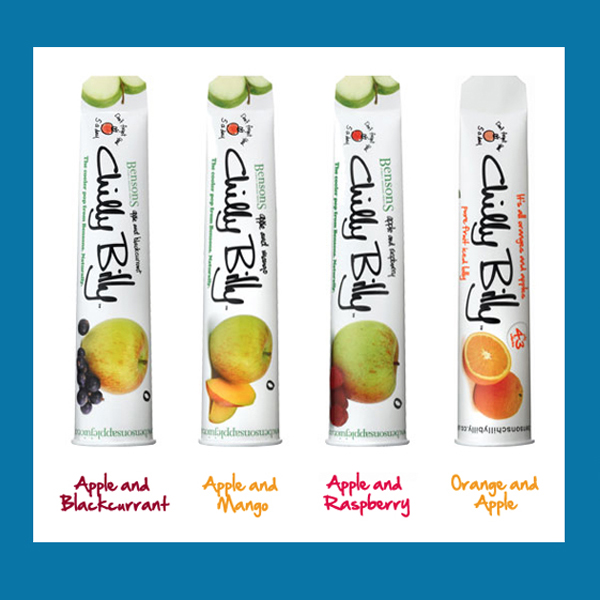 Real Fruit push ups. Various flavours.